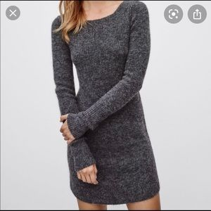 Wilfred Free peele sweater dress